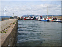 NH7867 : Cromarty Harbour by Bob Jones