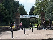 SE2955 : Entrance to Valley Gardens, Harrogate by Neil Theasby
