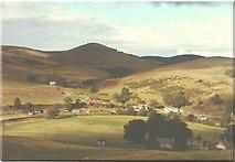 NN9804 : View of Glendevon youth hostel in 1984 by John Baker