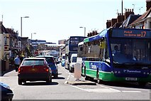 SU1585 : A busy Manchester Road by Steve Daniels