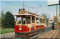SD8303 : Manchester tram 765 at Heaton Park Tramway, Manchester by Francis W Chadwick