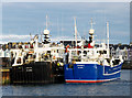 J5082 : Two trawlers at Bangor by Rossographer