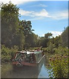 SU7251 : John Pinkerton Canal Boat by Paul Gillett