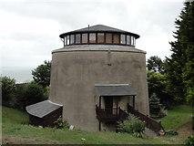 TR1935 : Shorncliffe, Martello Tower No. 8 by Helmut Zozmann