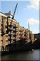 TQ3379 : St Saviour's Dock by Chris Allen