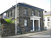 SH5638 : Masonic Hall, Porthmadog by Michael Westley