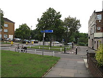 TQ1882 : Cycle track from Twyford Abbey Road to go under the North Circular by David Hawgood