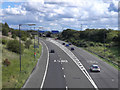SD7404 : M61 at Junction 2 by David Dixon