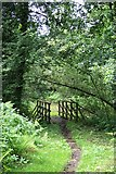 TQ1462 : Bridle bridge on Arbrook Common by Hugh Craddock