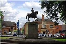 SP0583 : University of Birmingham - Statue of George I by N Chadwick