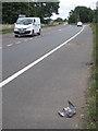 SP2282 : A45 west of Meriden  by Robin Stott