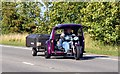 SU3095 : Trike and trailer on the A420 by Steve Daniels