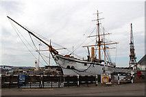 TQ7569 : HMS Gannet, Chathan Historic Dockyard, Kent by Christine Matthews