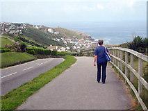 SW3526 : Cove Road Sennen by Rod Allday