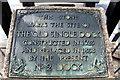 TQ7569 : Commemorative Stone, Chatham Historic Dockyard, Kent by Christine Matthews
