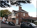 TQ4066 : Side view of the George Inn, Hayes by David Anstiss