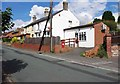 SO8484 : Potter's Cross Stores & Post Office, 4 White Hill, Kinver by P L Chadwick
