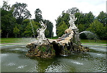 SU9185 : Cliveden, the fountain by Graham Horn