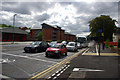 SP0583 : Segregated shared use path and advanced stop line near the Gun Barrels pub, Bournbrook by Phil Champion