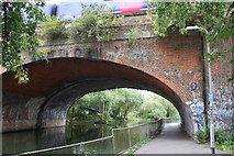 SU7373 : Horseshoe railway bridge by Roger Templeman