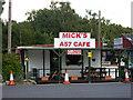 SK9274 : Mick's A57 Cafe by Richard Croft