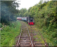 TR2548 : On The East Kent Railway by Des Blenkinsopp