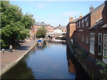 SP0586 : Canal and Pub, Birmingham by Rob Newman