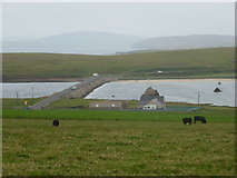 ND4798 : Burray: Churchill Barrier No.3 by Chris Downer