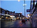 SP0384 : Harborne High Street at dusk by Phil Champion