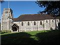 TQ3656 : St Paul's church, Woldingham: south side by Stephen Craven