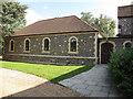 TQ3756 : St Paul's church, Woldingham: hall by Stephen Craven