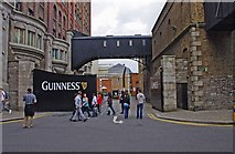 O1433 : Entrance to the Guinness Storehouse Visitor Centre, Robert Street South, Dublin by P L Chadwick