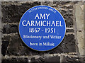 J5976 : Amy Carmichael plaque, Millisle by Albert Bridge