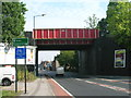 SK3987 : Railway bridge over Prince of Wales Road, Sheffield by JThomas