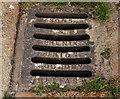 J5975 : Union Foundry grating cover, Millisle by Albert Bridge