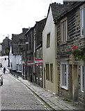 SE1039 : Bingley - Old Main Street (southwest side) by Dave Bevis