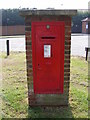 TM4977 : Halesworth Road Edward VII  Postbox by Adrian Cable