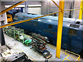 SE5951 : D1023 'Western Fusilier' in the workshop at the National Railway Museum, York by Phil Champion