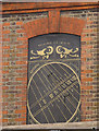 TQ2574 : Sundial, Wandsworth Place by Stephen Craven