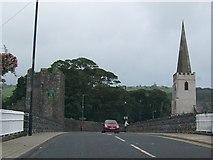 D3115 : Bridge over the Glenarm River at Glenarm by Eric Jones