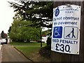 SP0484 : Pavement parking on Barlow's Road, Harborne by Phil Champion
