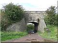 NZ3148 : Railway bridge near Rainton Meadows by Malc McDonald