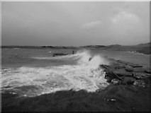 NR6880 : Jetty at the end of the B8025 by Iain Coucher