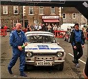 NX4355 : Historic Car Winner 2011 by Andy Farrington