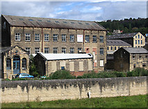 SE1039 : Bingley - Whitley Street mills by Dave Bevis