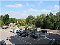 SU9850 : Senate House car park, University of Surrey by David Hawgood