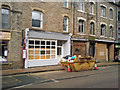 SD9927 : Empty shops on Market Street, Hebden Bridge by Phil Champion