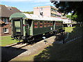 SU8954 : Ambulance train coach, Army Medical Services Museum by David Hawgood