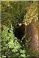 SU4594 : Dry lock chamber near Drayton by Steve Daniels