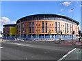 SJ7899 : Hope Building, Salford Royal Hospital by David Dixon